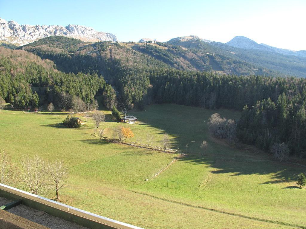 Location au ski Studio cabine 4 personnes (622T5) - Residence Les Glovettes - Villard de Lans - Extérieur été