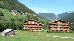 Location au ski Appartement 3 pièces 6 personnes (03) - Residence Les Grangettes - Arêches-Beaufort - Extérieur été