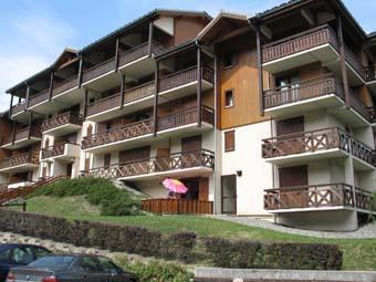 Location au ski Studio 2 personnes (71) - Residence Les Hauts De Saint Gervais - Saint Gervais - Extérieur été