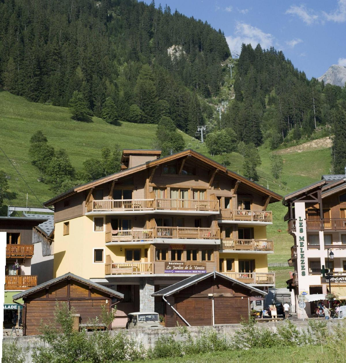 Location au ski Residence Les Jardins De La Vanoise - Pralognan-la-Vanoise - Extérieur été