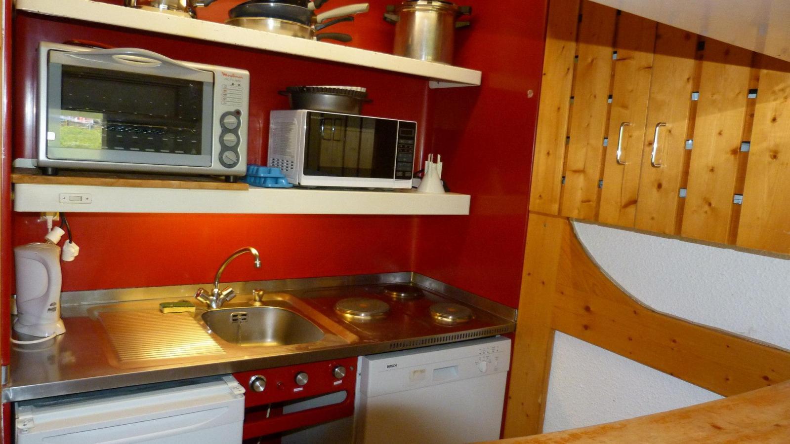 Location au ski Appartement 4 pièces 10 personnes (205) - Residence Les Tournavelles - Les Arcs - Extérieur été