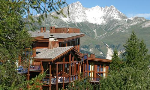 Location au ski Residence Maeva Charmettoger - Les Arcs - Extérieur été