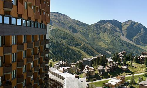Location au ski Residence Maeva L'hermine - Avoriaz - Extérieur été