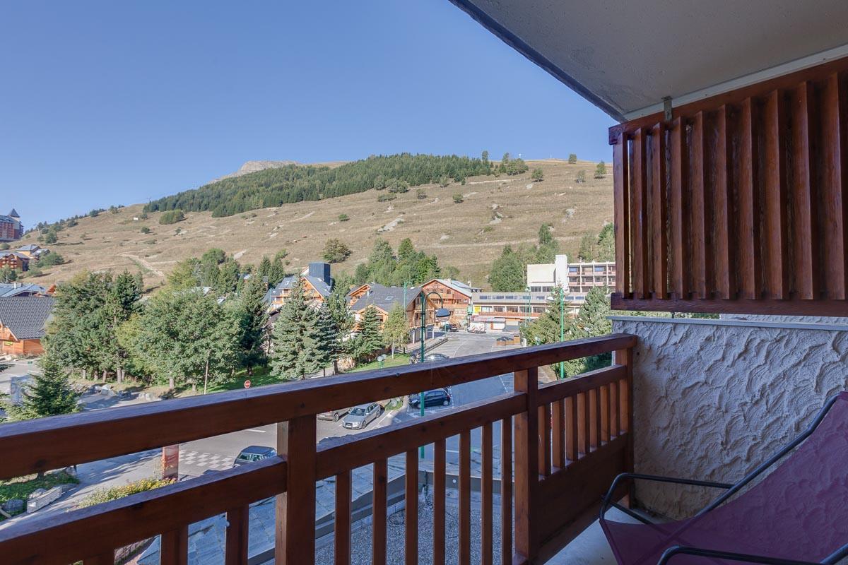 Location au ski Studio 4 personnes (309) - Residence Meijotel Centaines - Les 2 Alpes - Extérieur été