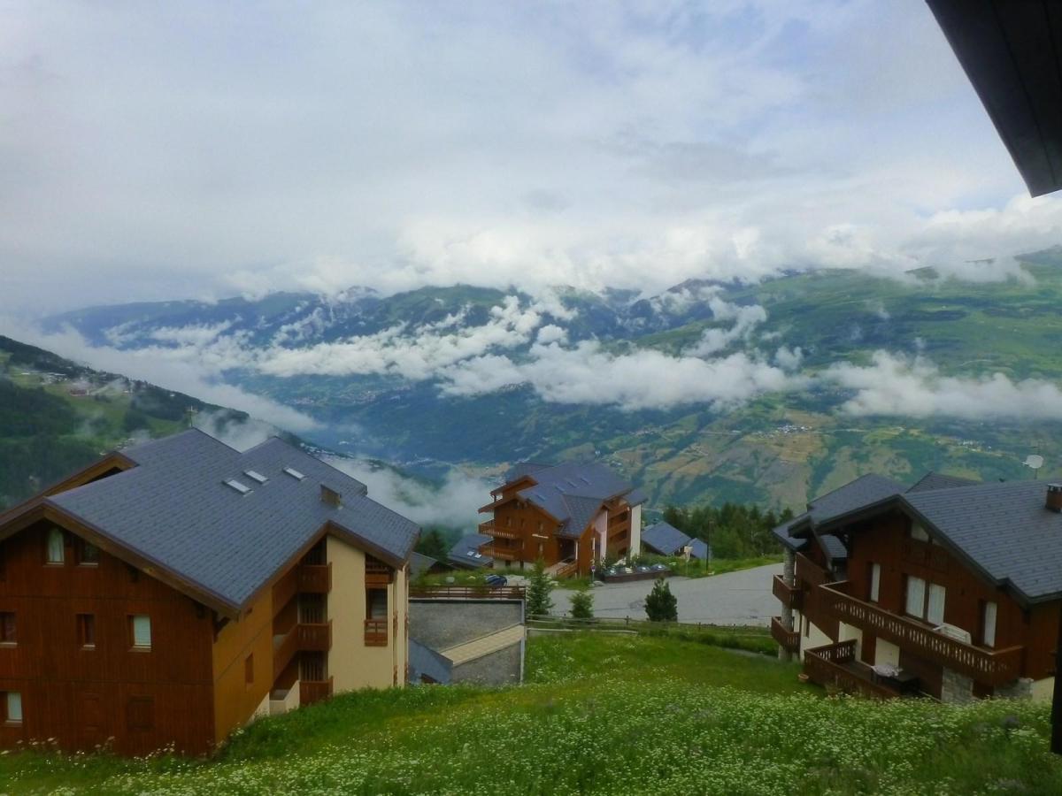 Location au ski Appartement duplex 3 pièces coin montagne 8 personnes (91) - Residence Petite Ourse - Peisey-Vallandry - Extérieur été