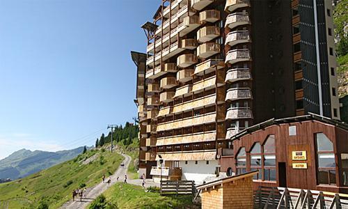 Location au ski Residence Pierre Et Vacances Antares - Avoriaz - Extérieur été