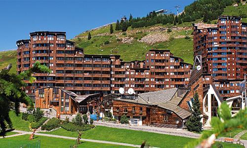 Location au ski Residence Pierre Et Vacances Les Fontaines Blanches - Avoriaz - Extérieur été