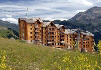 Location au ski Residence  Rochebrune - Orcières 1850 - Extérieur été