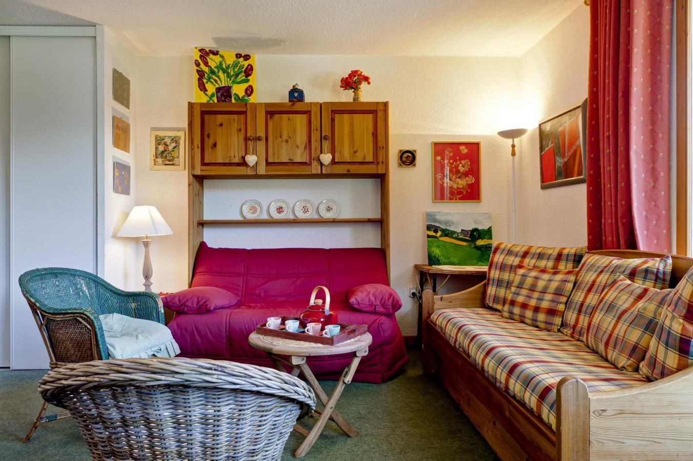 Location au ski Appartement 2 pièces 4 personnes (42) - Residence Saboia - La Tania - Extérieur été