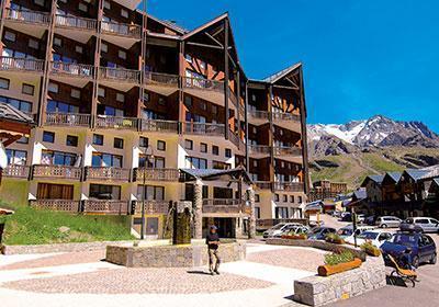 Location au ski Residence Silveralp - Val Thorens - Extérieur été
