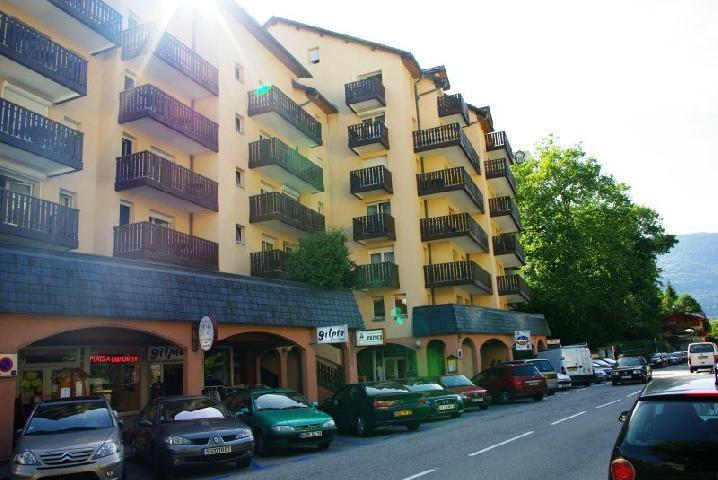 Location au ski Studio 4 personnes (538) - Residence Tarentaise - Brides Les Bains - Extérieur été