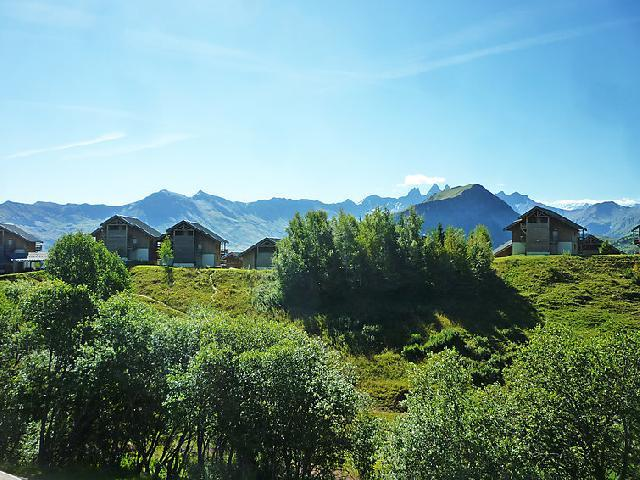 Holiday in mountain resort 2 room apartment 4 people (8) - 1.2.3 Soleil - La Toussuire - Summer outside