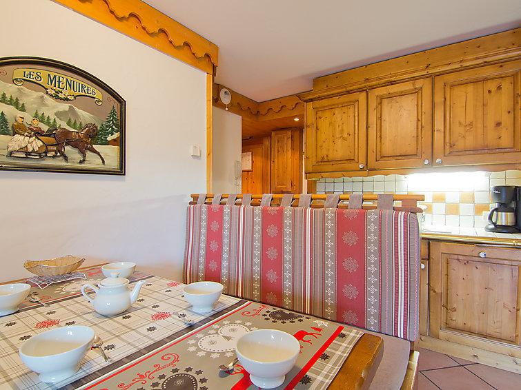 Holiday in mountain resort 3 room apartment 6 people (1) - Alpages de Reberty - Les Menuires - Accommodation