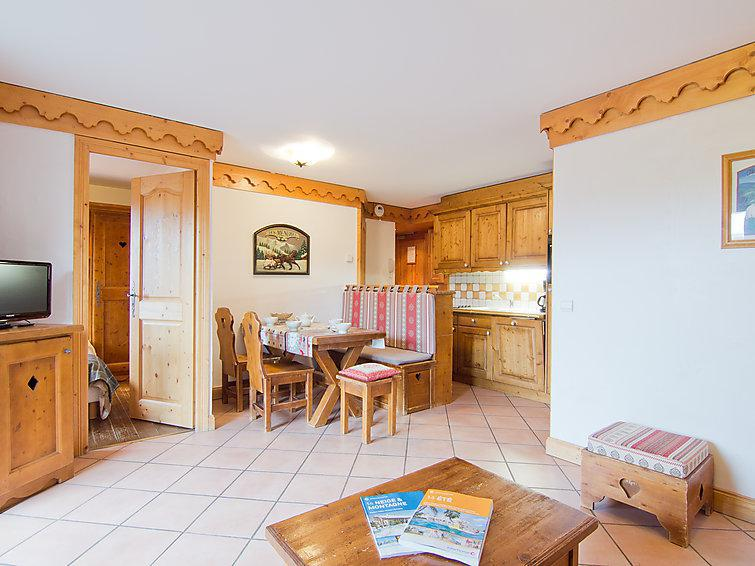 Holiday in mountain resort 3 room apartment 6 people (1) - Alpages de Reberty - Les Menuires - Summer outside