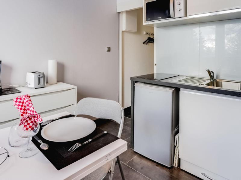 Vakantie in de bergen Appartement 1 kamers 2 personen (1) - Antarès - Le Corbier
