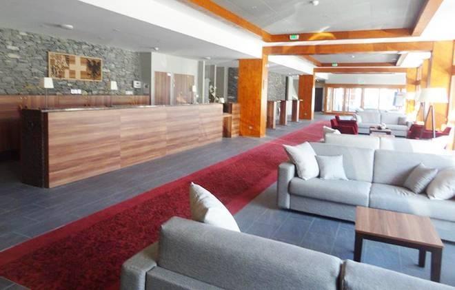 Wakacje w górach Appart'Hôtel Eden - Les Arcs - Recepcja