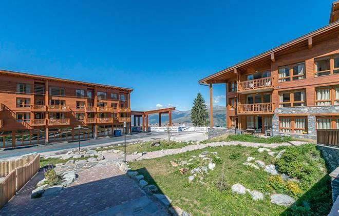 Rent in ski resort Appart'Hôtel Eden - Les Arcs - Summer outside