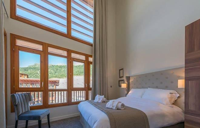 Wakacje w górach Appart'Hôtel Eden - Les Arcs - Pokój