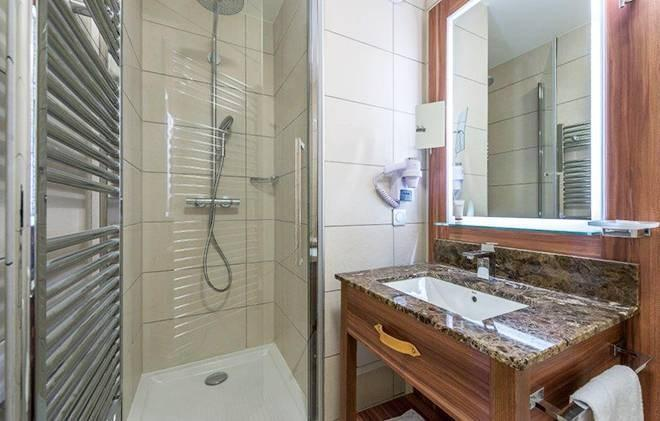 Vacances en montagne Appart'Hôtel Eden - Les Arcs - Salle de bains