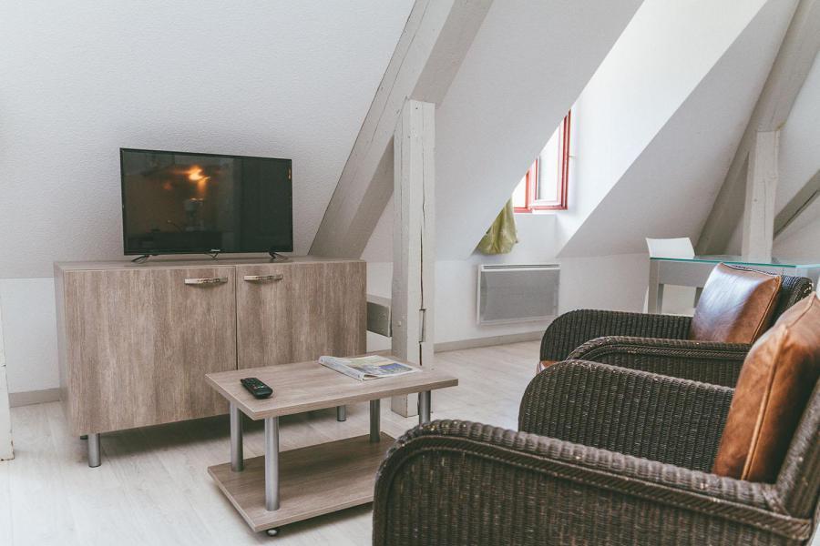 Vakantie in de bergen Appart'Hôtel le Splendid - Le Collet d'Allevard - TV
