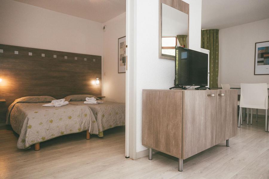 Vakantie in de bergen Appart'Hôtel le Splendid - Le Collet d'Allevard - Woonkamer