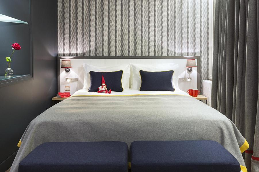 Vacaciones en montaña Araucaria Hôtel & Spa - La Plagne - Cama doble