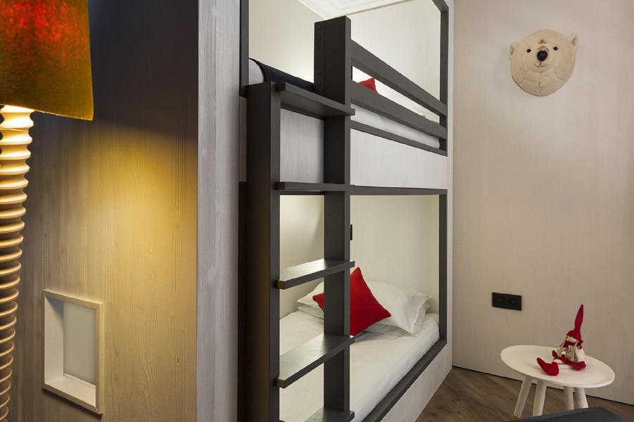Vacaciones en montaña Araucaria Hôtel & Spa - La Plagne - Camas superpuestas