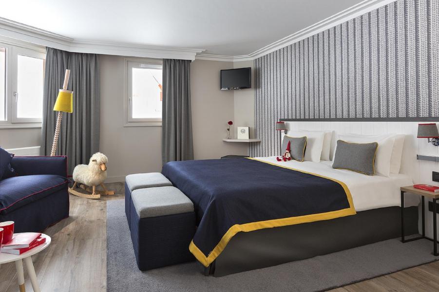 Vacaciones en montaña Araucaria Hôtel & Spa - La Plagne - Sofá-cama para 1 persona