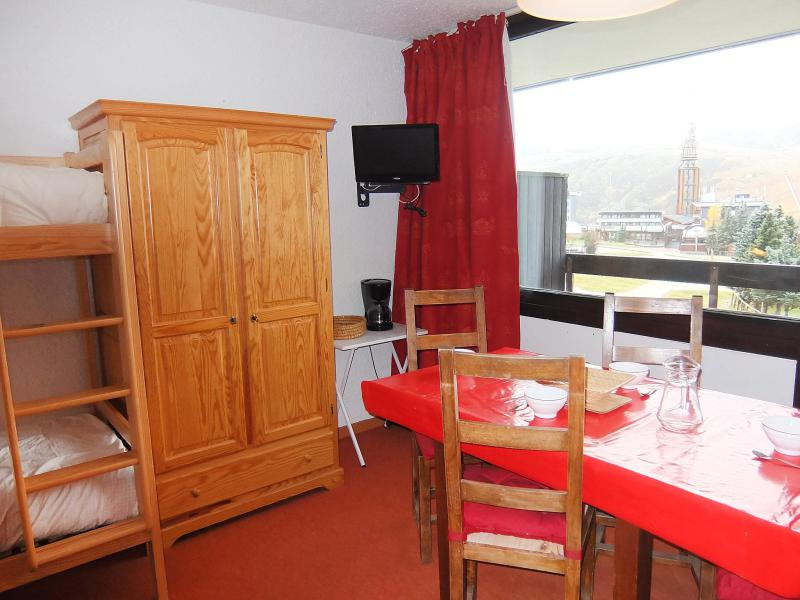 Holiday in mountain resort 1 room apartment 4 people (3) - Aravis - Les Menuires - Accommodation