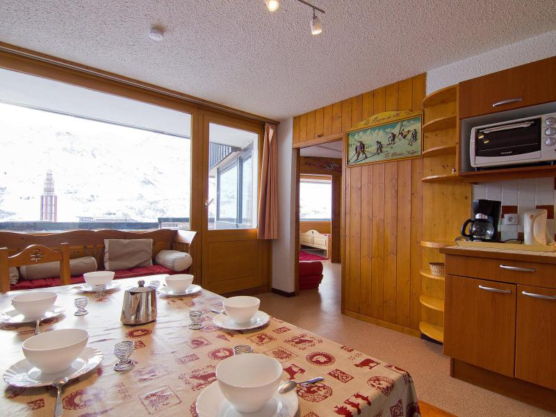 Holiday in mountain resort 3 room apartment 6 people (2) - Aravis - Les Menuires - Summer outside