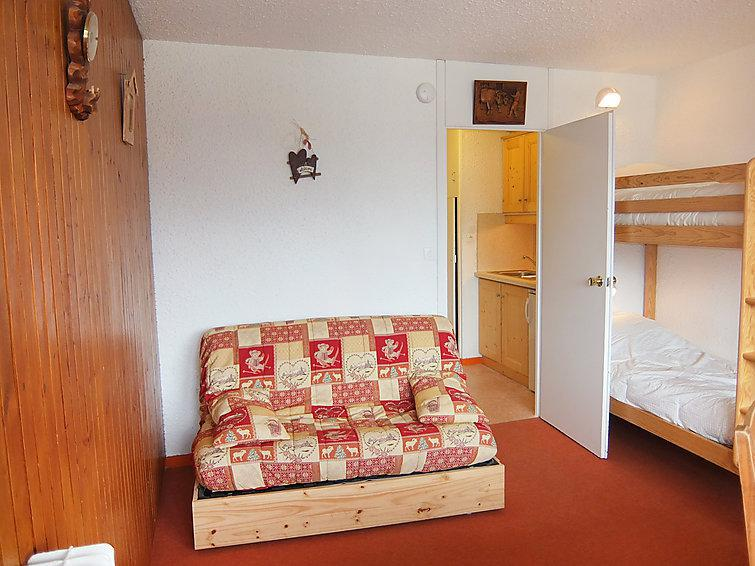 Holiday in mountain resort 1 room apartment 4 people (3) - Aravis - Les Menuires - Summer outside