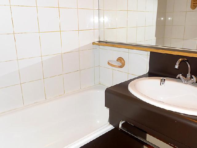 Holiday in mountain resort 2 room apartment cabin 4 people (14) - Arcelle - Val Thorens - Bathroom