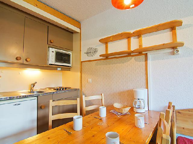 Holiday in mountain resort 2 room apartment cabin 4 people (16) - Arcelle - Val Thorens - Dining area
