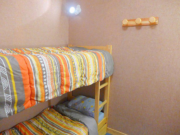 Holiday in mountain resort 2 room cabin apartment 4 people (5) - Arcelle - Val Thorens - Bunk beds