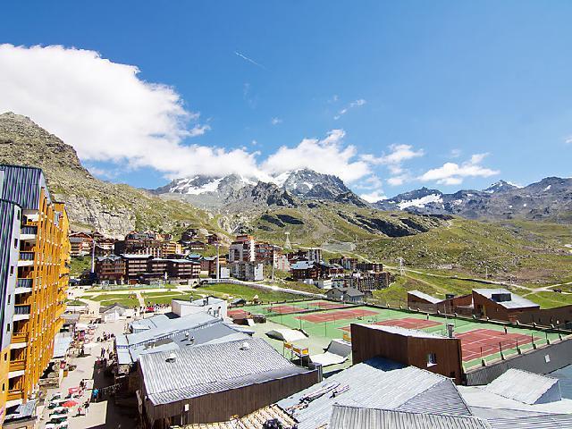 Location au ski Appartement 2 pièces cabine 4 personnes (16) - Arcelle - Val Thorens - Extérieur été