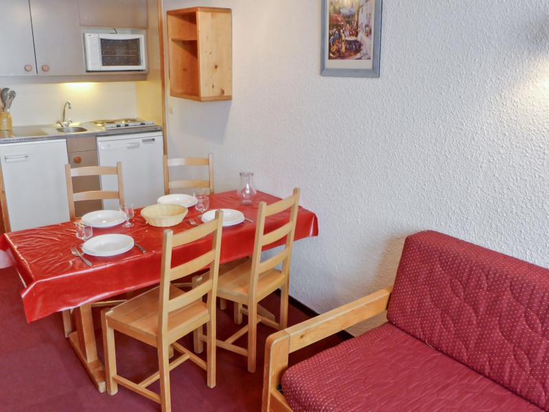 Holiday in mountain resort Studio cabin 4 people (4) - Arcelle - Val Thorens - Summer outside