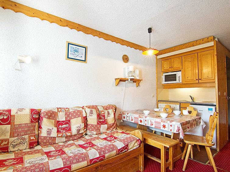 Holiday in mountain resort 2 room apartment 6 people (12) - Arcelle - Val Thorens - Summer outside