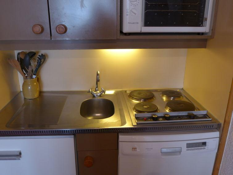 Holiday in mountain resort Studio cabin 4 people (4) - Arcelle - Val Thorens - Accommodation