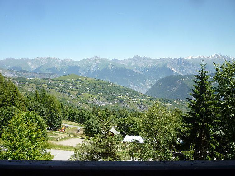 Holiday in mountain resort 1 room apartment 3 people (5) - Ariane - Le Corbier - Accommodation
