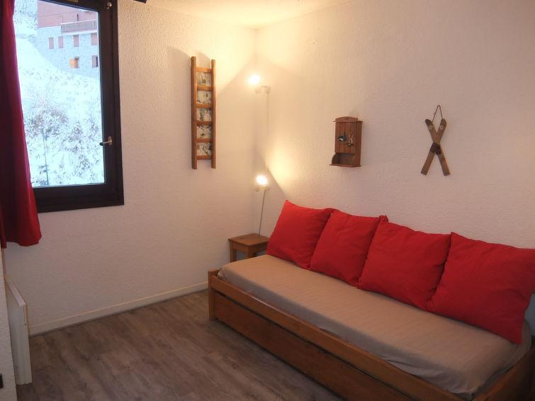 Holiday in mountain resort 1 room apartment 2 people (3) - Armoise - Les Menuires - Summer outside