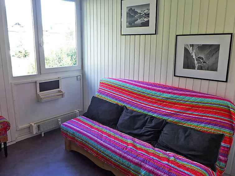 Holiday in mountain resort 1 room apartment 2 people (3) - Arve 1 et 2 - Chamonix - Summer outside