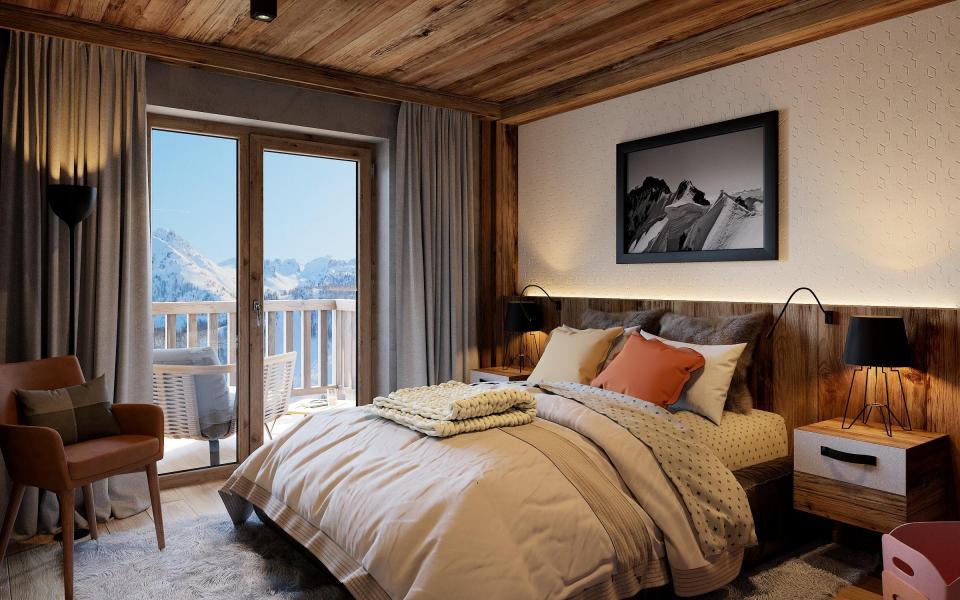 Vacaciones en montaña Avancher Hôtel & Lodge - Val d'Isère - Cama doble