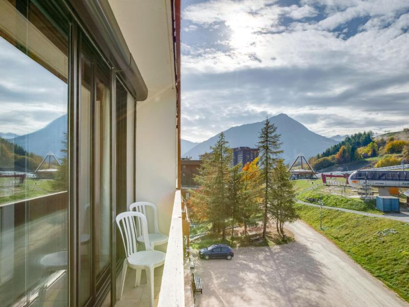 Wakacje w górach Apartament 2 pokojowy 4 osób (4) - Baikonour - Le Corbier - Na zewnątrz latem
