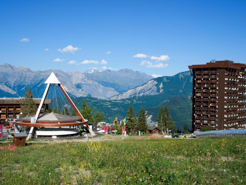 Аренда на лыжном курорте Апартаменты 3 комнат 6 чел. (6) - Baikonour - Le Corbier - летом под открытым небом