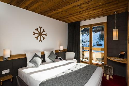 Holiday in mountain resort Best Western Plus Excelsior Chamonix Hôtel & Spa - Chamonix - Bedroom
