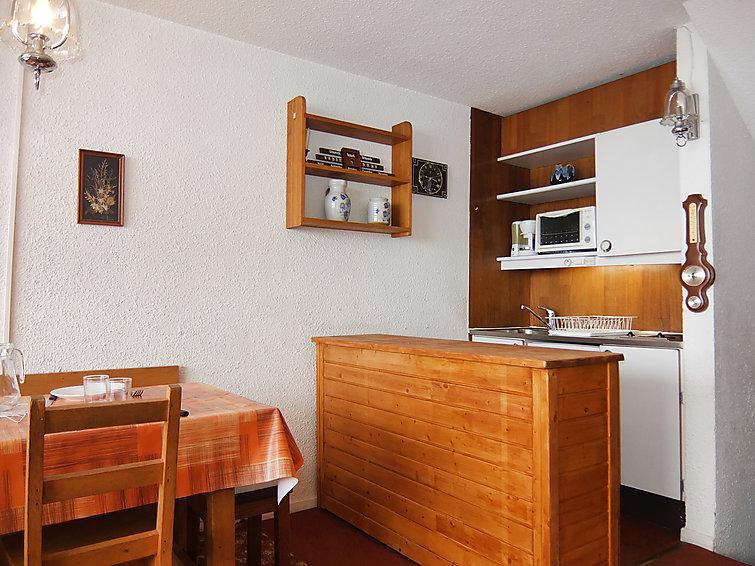 Holiday in mountain resort 1 room apartment 4 people (1) - Brelin - Les Menuires - Accommodation