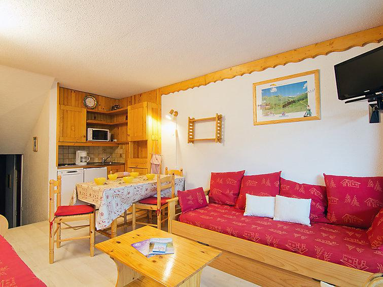 Holiday in mountain resort 2 room apartment 5 people (5) - Brelin - Les Menuires - Accommodation
