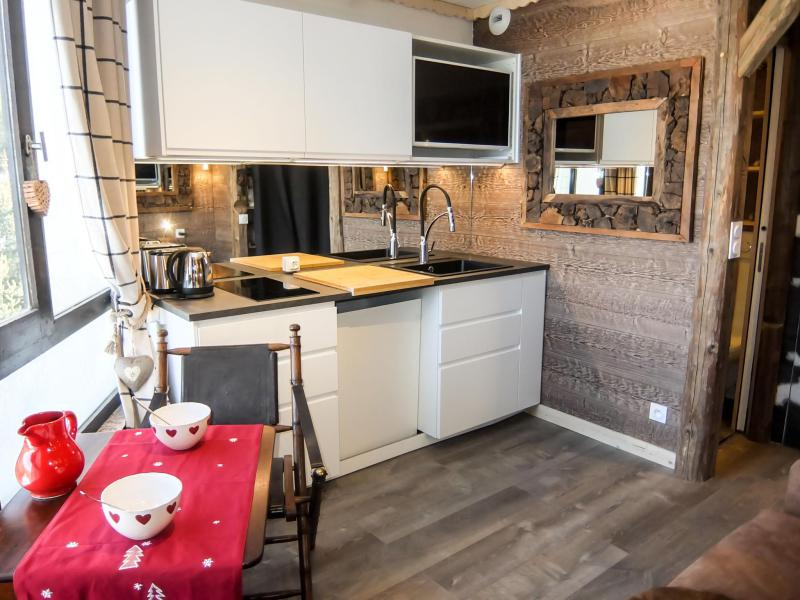 Holiday in mountain resort 1 room apartment 2 people (12) - Caron - Les Menuires - Accommodation