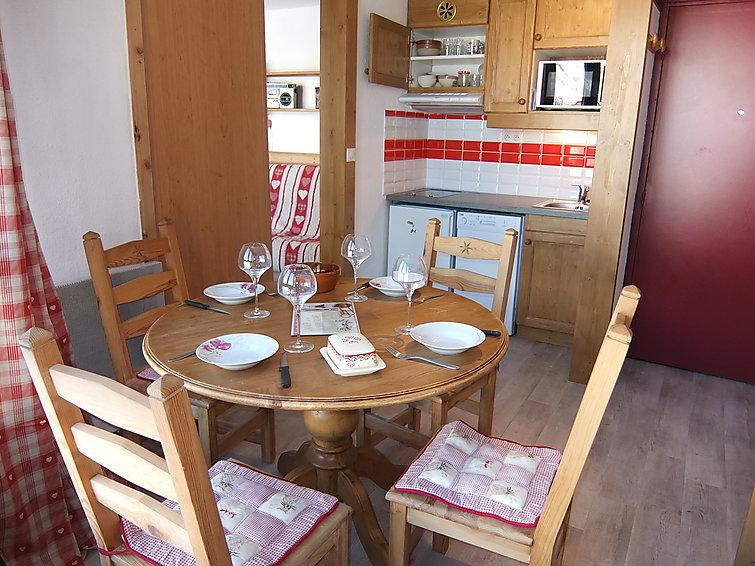 Holiday in mountain resort 2 room apartment 4 people (11) - Caron - Les Menuires - Summer outside
