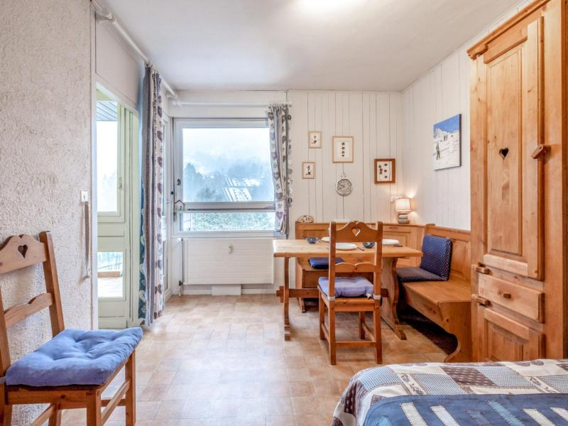 Wakacje w górach Apartament 1 pokojowy 4 osób (3) - Castel des Roches - Saint Gervais